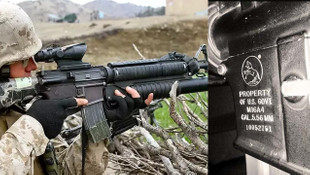 ABD silahları DEAŞ'ın ardından PKK'da !