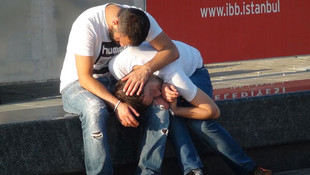 Taksim'de yine bonzai krizi !