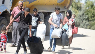 Suriyeliler ülkelerine dönüyor