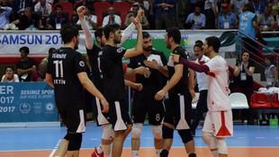 Türkiye voleybolda finalde