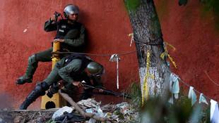 Venezuela'da yine kan aktı !