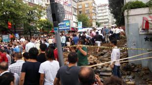 İstanbul'da mezarlık duvarı çöktü !