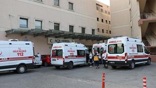 Sakarya'da 120 kişi hastaneye kaldırıldı !