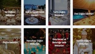 İstanbul Düğün Mekanları ve Düğün Salonları İçin Seçenekler