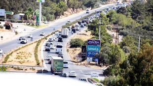 Bodrum trafiği kilit ! 5 kilometre kuyruk oluştu