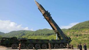 Kuzey Kore Japonya'ya füze fırlattı !