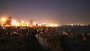 Antalya böylesini görmedi: Ünlü plajda şaşırtan manzara