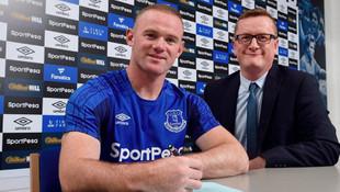 Wayne Rooney resmen Everton'da