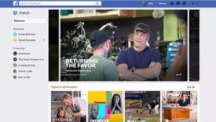 Facebook ''seç-izle'' ile TV kanallarına rakip oluyor