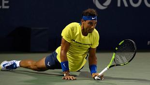 Rafael Nadal'a Shapovalov darbesi