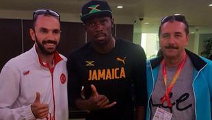 Usain Bolt'tan Guliyev'e tebrik !