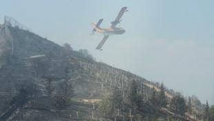 İzmirde kapatılan askeri lisede yangın