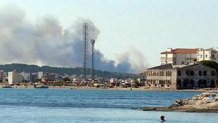 Şeytan Sofrası'nda büyük yangın