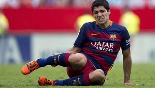 Barcelona'da Suarez şoku ! 1 ay yok…