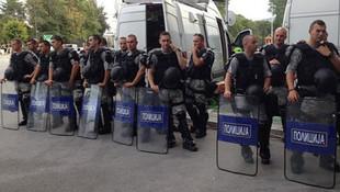 Fenerbahçe maçı öncesi Üsküp'te korkutan patlama sesi