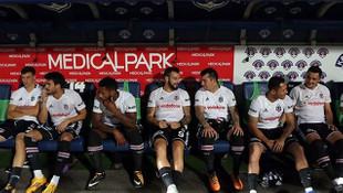 Beşiktaş'ın yedek kulübesini gören şok oldu