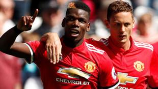 Manchester United gol oldu yağdı