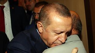 Erdoğan onu görünce gözleri doldu