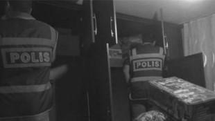 Baskına gittiği evde hırsızlık yapan polis açığa alındı