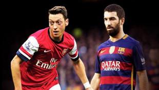 Barcelona Arda Turan'ı verip Mesut Özil'i alıyor