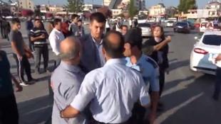 Davutoğlu'nun korumasıyla tartışan öğretmene gözaltı
