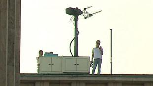 Meclis'in çatısına drone savar yerleştirildi