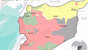 ABD destekliyor PKK genişliyor ! İşte o harita