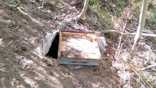Van'da terör örgütü PKK'ya ait sığınak bulundu