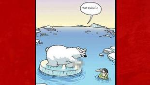 El hareketi yapan kutup ayısı böyle imha edilecek !