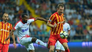 Kayserispor evinde Antalyaspor'u devirdi