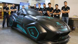 Üniversite öğrencilerinden elektrikli yerli otomobil