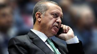 Erdoğan'dan kritik telefon görüşmeleri