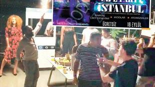 İstanbul'da ''elektronik sigara'' partisine polis baskını