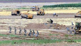 Irak sınırında dev tatbikat ! Mevziler kazıldı