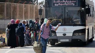 Bu sefer kesin dönüş ! Suriyeliler ülkelerine gidiyor
