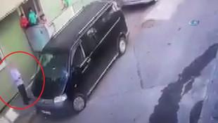Çocukları adres sorma bahanesiyle minibüsüne bindirip, mahalleli bağırınca uzaklaştı