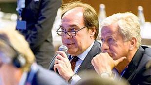 Yıldırım Demirören, UEFA TEP zirvesinde