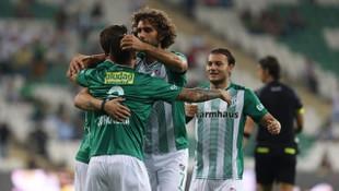 Bursaspor 4 golle 4. tura yükseldi