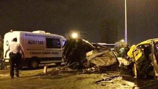 Antalya'da sabaha karşı korkunç kaza: 4 ölü