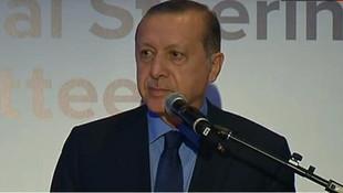 Erdoğan konuşurken salon karıştı !