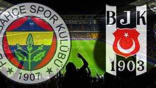 İşte Fenerbahçe-Beşiktaş derbisinin 11'leri