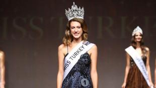 Miss Turkey birincisi Itır Esen'in tacı geri alındı