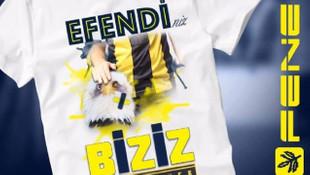 Fenerbahçe'den 'Efendiniz Biziz' tişörtü