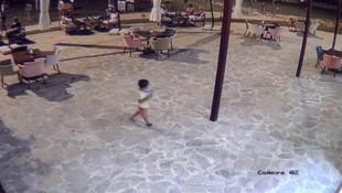 Vahşice öldürülen 5 yaşındaki çocuğun son görüntüleri