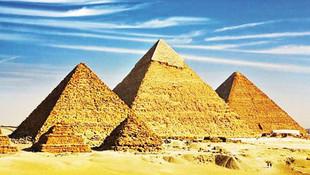 Mısır piramitlerinin gizemi çözüldü