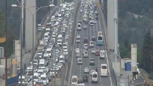 Dikkat 7 Kasım'a kadar böyle olacak; İstanbul'da trafik durdu !