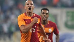 Feghouli'den ilk gol yorumu: ''Elhamdülillah''