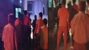 Genç kızı taciz ettiği iddiasıyla dövüldü