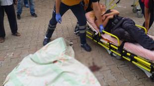 Anne ile kızına okul yolunda korkunç saldırı