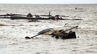 Gelibolu'daki sağanak yağış hayatı felç etti